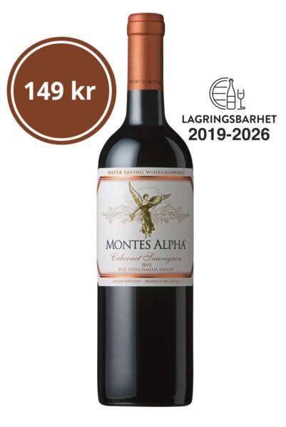 Montes Alpha Cabernet Sauvignon 2015
