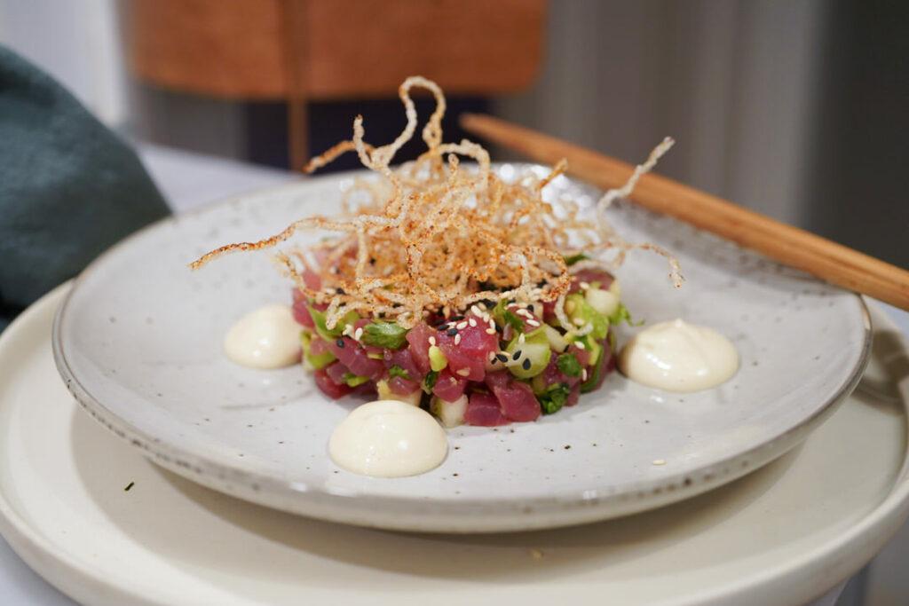 Tonfisktartar med avokado